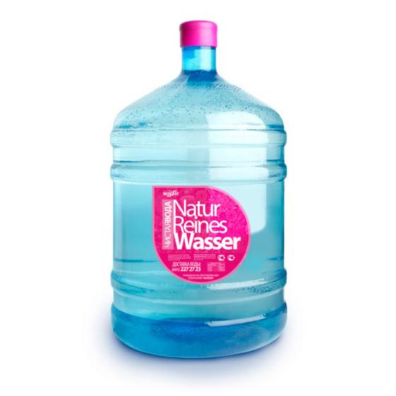 Natur reines wasser